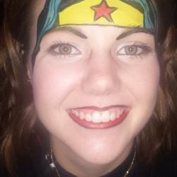 Wonder Woman Face Paint