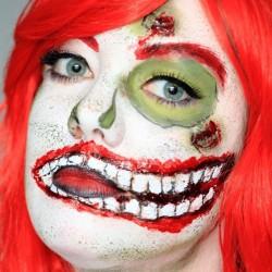 Dead Ariel face painting