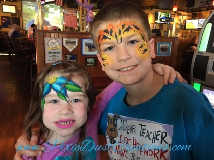 Face Painting & Balloons by Pixie Dust Creations EVERY Wednesday night at Glory Days Grill