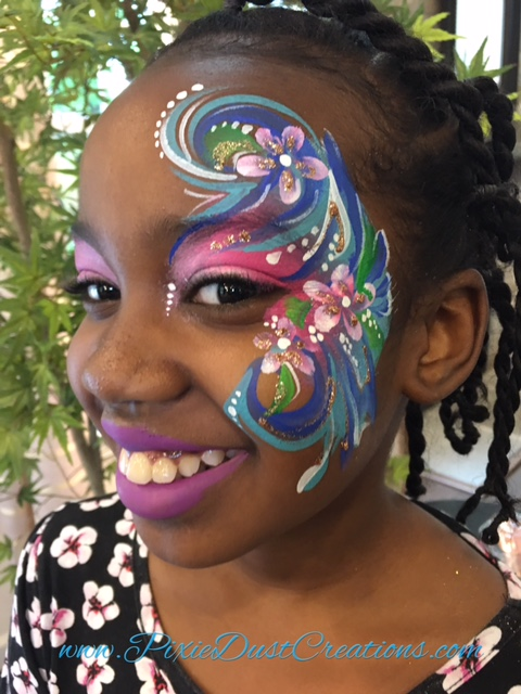 Fanciful Face Paint | Face Painting by Pixie Dust Creations