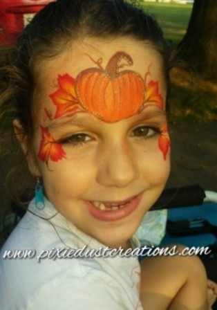Autumn Face Painting