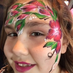 Fairy Flower Face Painting