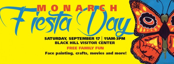 Face Painting at Black Hill Regional Park – Monarch Fiesta Day, Sept. 17th.