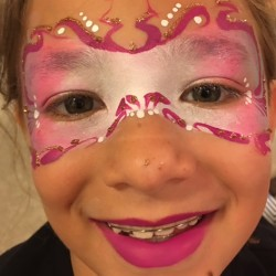 fairy mask face painting